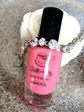 HELLO KITTY VERNIS A ONGLES LAQUE SHINE 1123 ROSE TENUE ET COUVRANCE EXCELLENTE