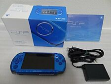 PSP Playstation Portable Vibrant Blue PSP - 3000 VB Excellent Condition Boxed