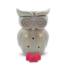 Wax Burner -Grey Owl Electric wax warmer with light, dimmer & celebration scents