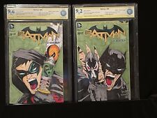 Batman 29 (2) CGC SS 9.2 & 9.6 BATMAN AND ROBIN ORIGINAL ART CONNECTING VARIANTS