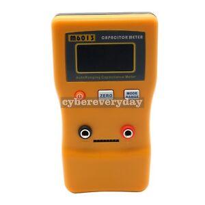 LCD Digital Capacitor Capacitance Meter Auto Range Multimeter Checker
