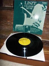 LISZT: Chamber music > Kiss Toth Banda Perenyi Tatrai /Hungaroton LP stereo exc+