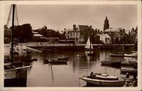 Le Croisic Frankreich CPA 1942 Le Bassin et L'Entrée de la Ville Hafen Boote