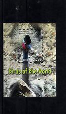 Liberia 2013 MNH Birds of World I 4v S/S Crowned Crane Nature