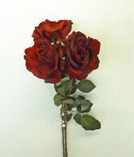 FIORI  E PIANTE ARTIFICIALI  Rosa rossa