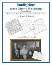 Family Maps Yazoo County Mississippi Genealogy MS Plat
