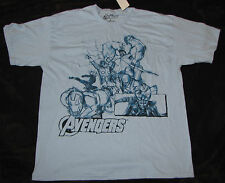 XL MARVEL MENS T-SHIRT THOR THE AVENGERS COMICS CAPTAIN AMERICA IRON MAN LOKI!!!