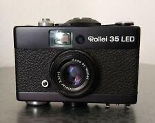 Black Rollei 35 LED 35mm camera