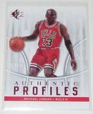 2008/09 Michael Jordan Upper Deck SP Authentic Profiles #AP-10 Insert Card NM