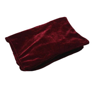 Comfortable Stool Chair Bench Cover Piano Single Seat Bench Cover Burgundy