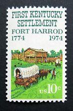 Sc # 1542 ~ 10 cent First Kentucky Settlement, 150th Anniversary Issue
