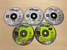 Official Playstation Magazine Demo Discs Lot - 20 21 22 29 34 - 1999 2000