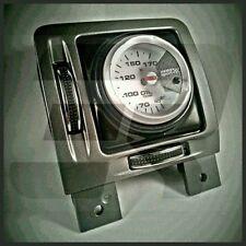 Vauxhall vectra c air vent gauge pod adaptateur fibre de carbone en plastique abs vxr 52mm