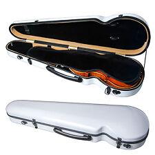 PAITITI Triangular Violin Shaped Full Size Durable Super Light Fiber Glass Case