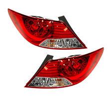 NEW PAIR OF TAIL LIGHTS FIT HYUNDAI ACCENT SEDAN 2012-14 92402-1R010 924021R010