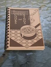Waukegan IL Symphony Chorus Cookbook Recipes 1988/89 Carnegie Hall Fundraiser