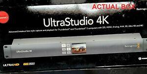 Blackmagic Design UltraStudio 4k Thunderbolt 2 HDMI SDI Video Capture Interface