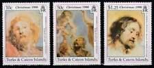 Turks & Caicos postfris 1990 MNH - Peter Paul Rubens (k049)