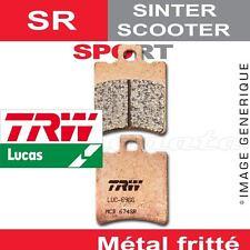 Plaquettes de frein Arrière TRW Lucas MCB 695 SR pour Peugeot 50 Tweet RS 10-