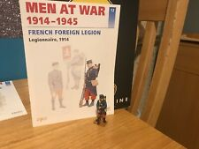 Del Prado Men at War 1914-1945, #12, French Foreign Legion, 1914, fig/book