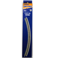 Tomix 1852 Rail Courbe / Curve Track C317-45(F) 4pcs - N