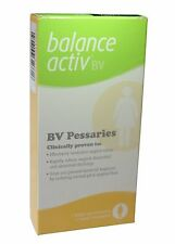 BALANCE ACTIV BV VAGINAL PESSARIES - FREE UK SHIPPING