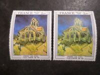 FRANCE 1979, VARIETE COULEURS, timbre 2054, TABLEAU VAN GOGH, neuf**, MNH STAMP