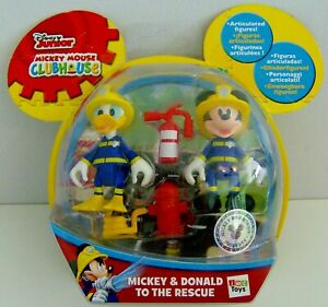 Disney Junior Mickey Mouse Clubhouse Mickey & Donald To The Rescue Fire Fighters