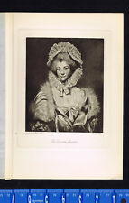 The Countess Spencer Engraved by Hodges after Reynolds - Photogravure 1904