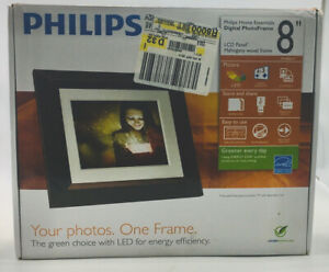 "Philips SPF3482/G7 Home Essentials Digital Photo Frame 8"" LCD Panel"