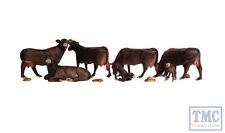 A2217 Woodland Scenics N Gauge Black Angus Cows