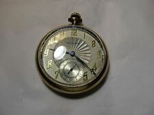 NOW 20% OFF--Antique Waltham 1899-1900 Open Face Pocket Watch 10KT Gold Filled