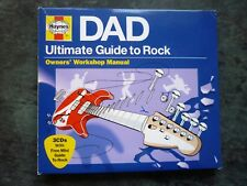 HAYNES DAD ULTIMATE GUIDE TO ROCK 3 CD ALBUM DAVID BOWIE STONE ROSES ELO THE JAM