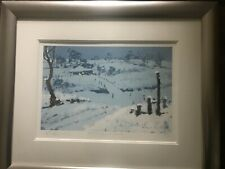 """Rolf Harris Signed Limited Edition Framed Print """"Stars Of The Snow"""" Artist Proof"""