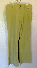 Periscope Womens Pants Size 9 Velvet Texture Camel Tan Casual Dress Pants