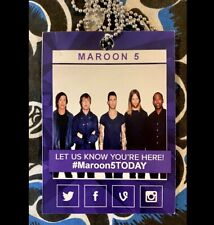 "Maroon 5 Performs From New Album ""V� On The Today Show - Sept 1, 2014 - Press"