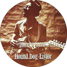 CHAPA/BADGE HOUND DOG TAYLOR . pin button blues muddy waters howlin wolf chuck