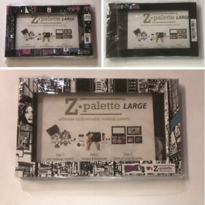 Z Palette Customizable MAKEUP PALETTE MAGNETIC fit hold 10 shadows sombras