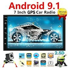 New listing Android 9.1 2 Din Car radio Multimedia Gps Player 2Din 2.5D Wifi Fm + Rv Camera
