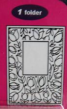 Crafts-TOO/CTFD 3051/C6/carpeta de grabación en relieve// Tulipán Marco de ventana
