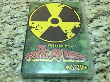 The Complete Toxic Avenger 1-4 I II III IV (DVD, 2008, 7-Disc Set) TROMA TOXIE