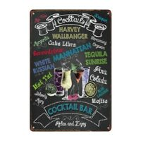 Details about  /Metal Tin Sign cheers good beers Pub Home Vintage Retro Poster Cafe