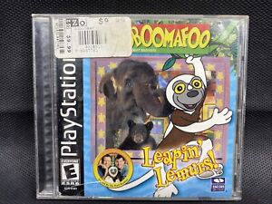Zoboomafoo: Leapin' Lemurs Sony PlayStation 1 2001 PS1 FAST FREE SHIPPING 🚐🔥