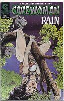 CAVEWOMAN : RAIN # 2 SPECIAL SECOND PRINTING  !!  CALIBER COMICS !!!   VF/NM