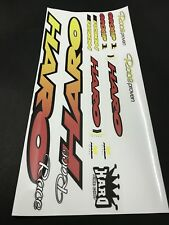 1993-94 Haro Group 1 Decals Sticker Set Suit Your Old School BMX Red Yellow