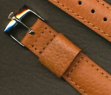 Rolex Buckle. 20mm retro Genuine Wild Boar Strap Band Leather Lined