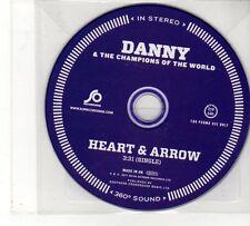 (FU920) Danny & The Champions of the World, Heart & Arrow - 2011 DJ CD