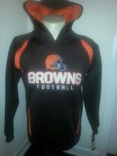 NFL Cleveland Browns Hooded Sweatshirt Youth Small (8) New with Tags Kids