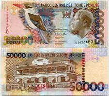ST. THOMAS & PRINCE 50,000 50000 DOBRAS 2013 / 2015 P 68 REPLACEMENT ZZ UNC