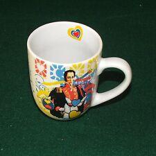 Columbia Pop Art Coffee Mugs Set of Four Simón Bolívar Cnt. Amer. Icons Así Sabe